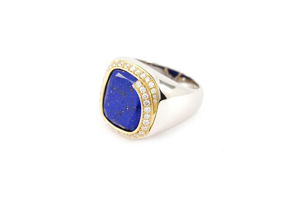 Bague Lapis Lazuli 3