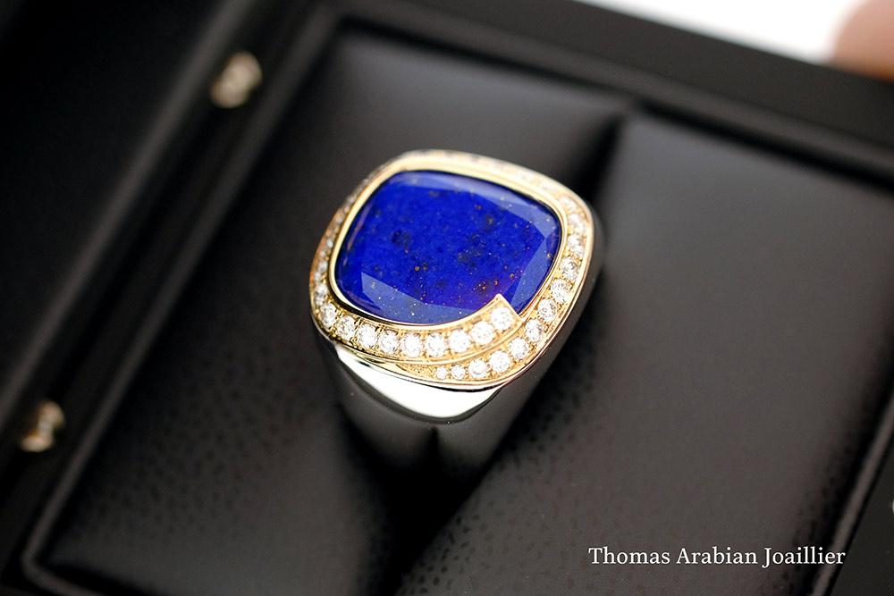 Bague Lapis Lazuli 6