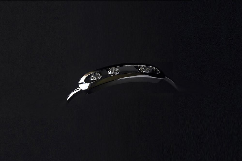 Bracelet 3 diamants 4