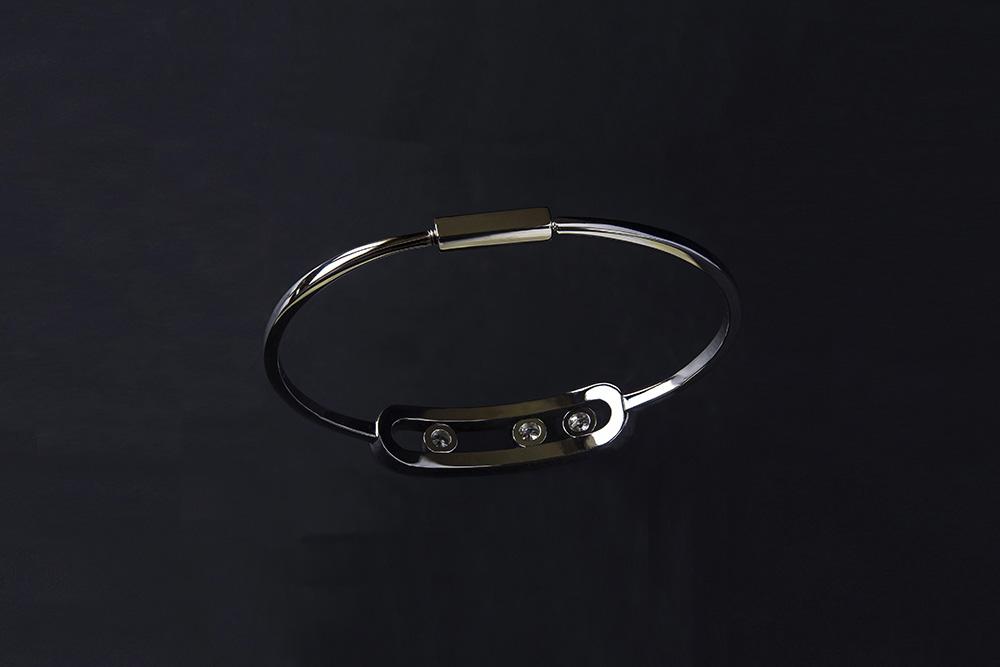 Bracelet 3 diamants 5