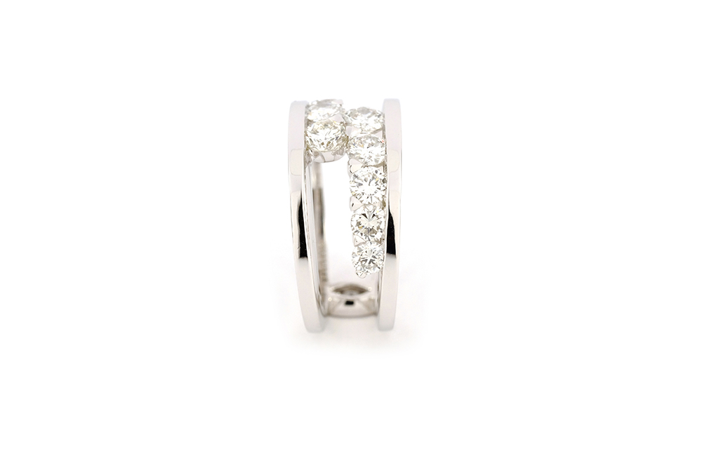 Bague diamants de type Toi et Moi selon Thomas Arabian 5