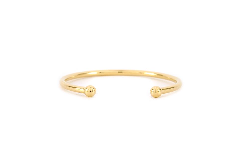Bracelet - Jonc en or jaune 2