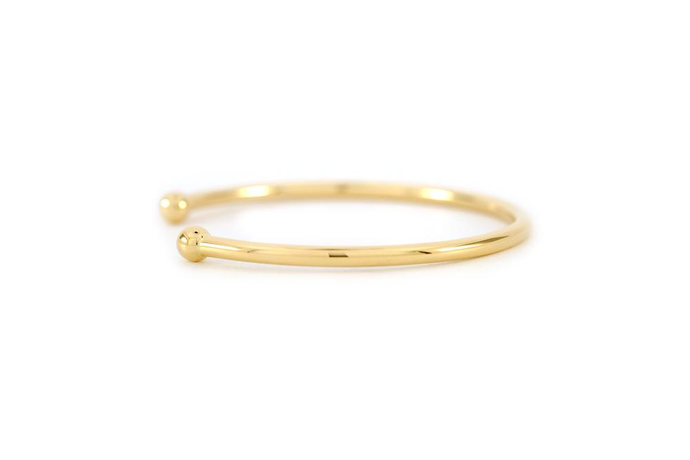 Bracelet - Jonc en or jaune 3