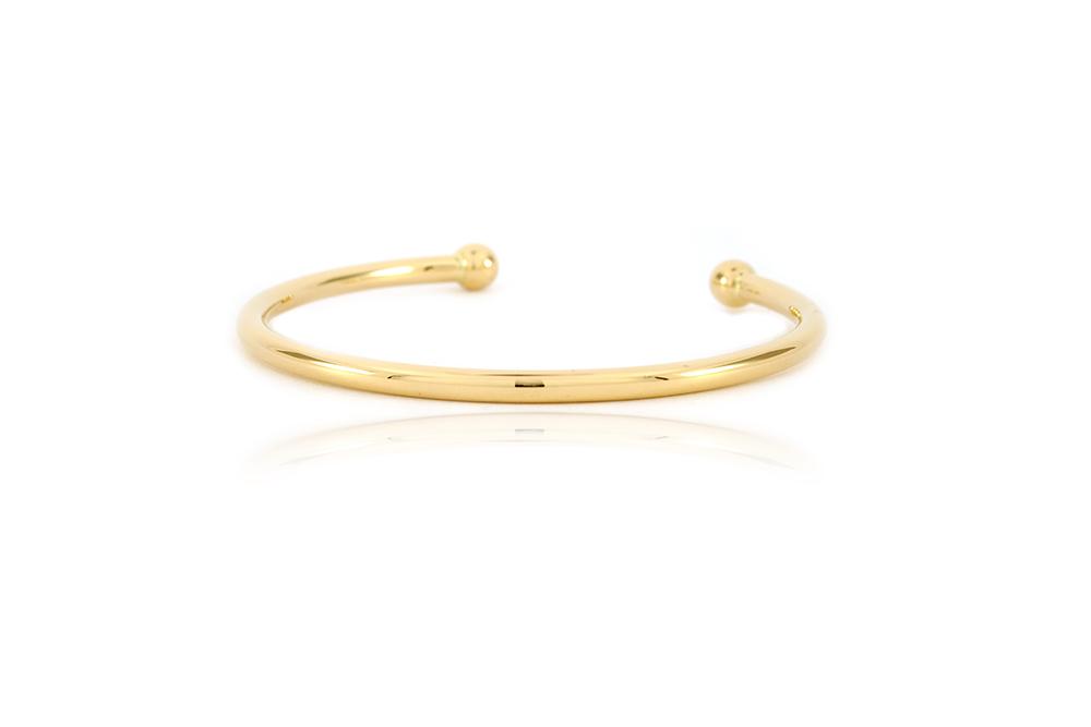 Bracelet - Jonc en or jaune 4