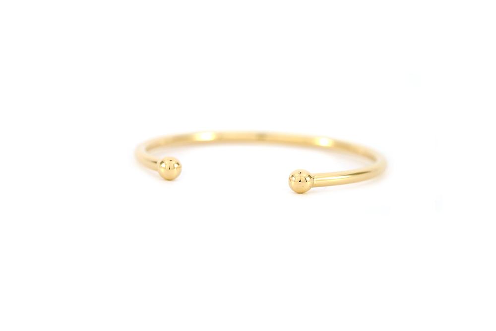 Bracelet - Jonc en or jaune