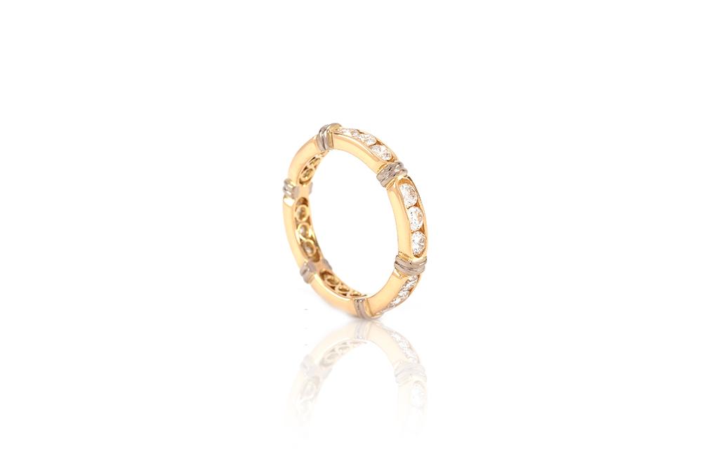 Alliance Antoinette - Or jaune 18k et Diamants 2