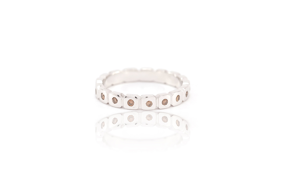 Alliance Choco, or blanc et diamants 1