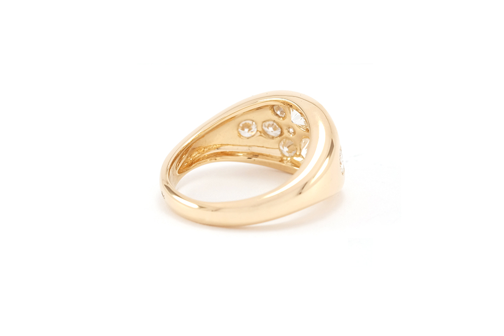 Bague Angel, Or Jaune et Diamants 2