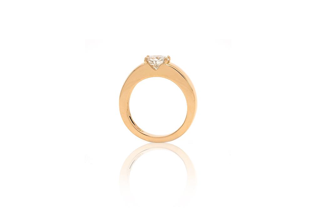 Bague Orog, or jaune et diamant 2