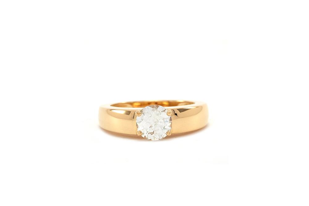 Bague Orog, or jaune et diamant 3