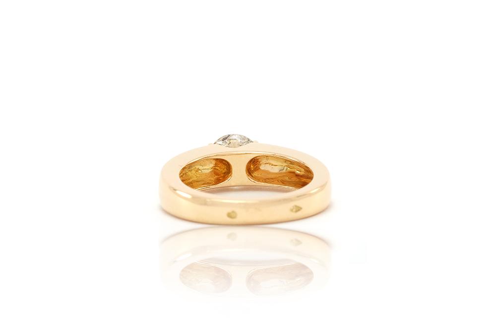 Bague Orog, or jaune et diamant 4