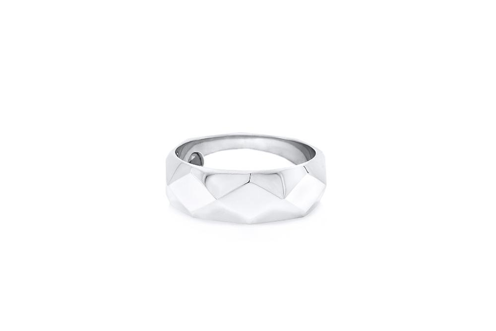 Alliance Arlequin GM, or blanc et diamant noir 3
