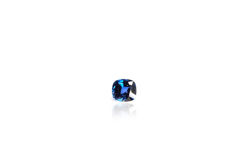 saphirs coussin bleu 2 1