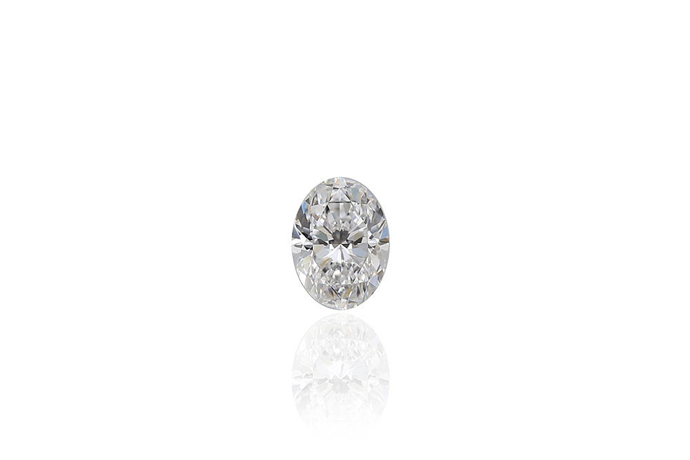 Diamant taille ovale