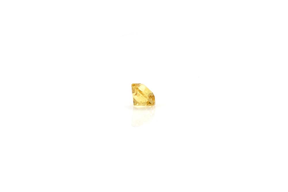 Saphir jaune carré 1