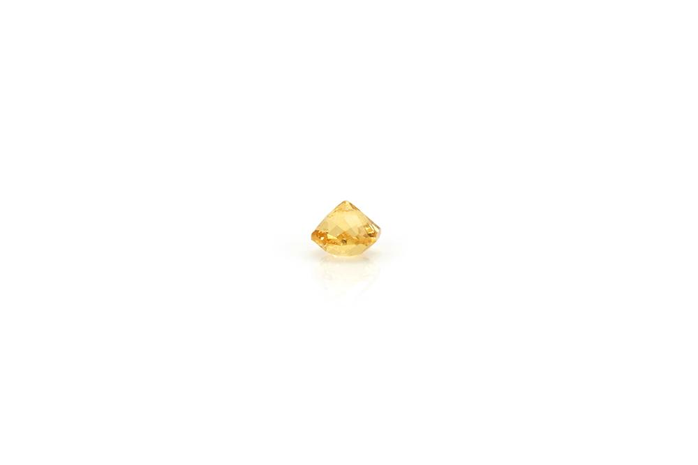Saphir jaune carré 3